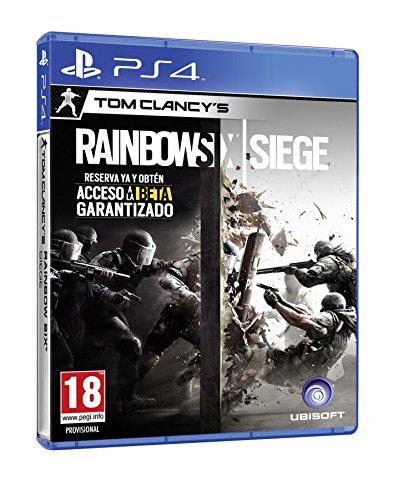 PS4: Rainbow Six Siege (juego físico)