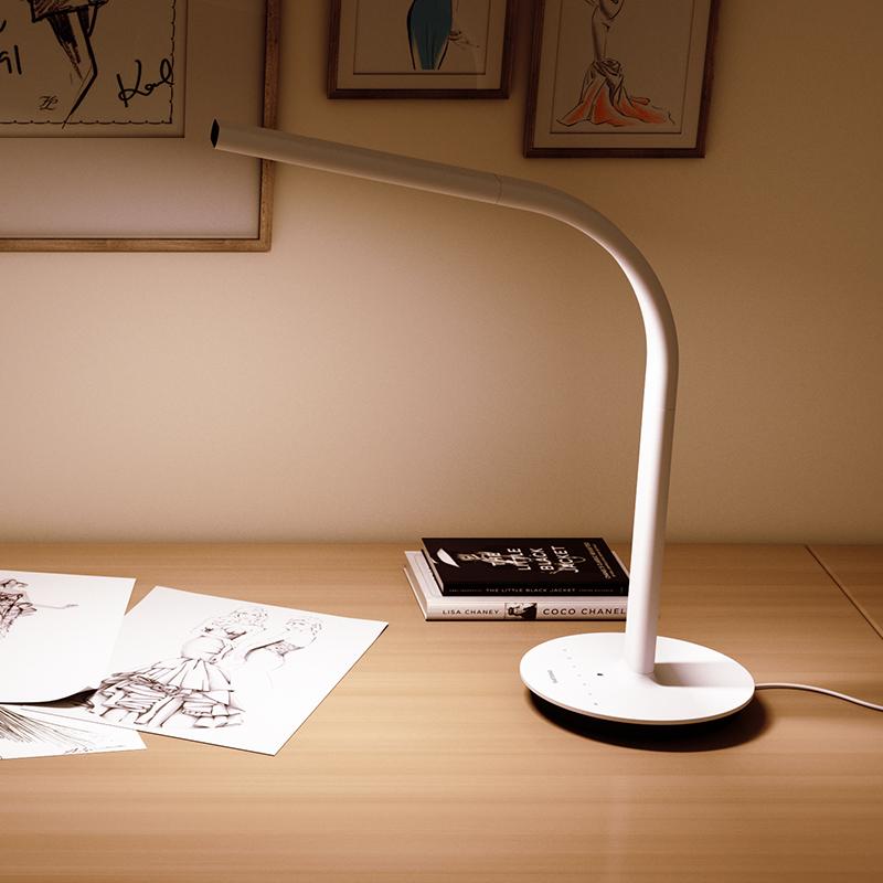 Original Xiaomi mijia lámpara de escritorio 2nd Smart LED luz mijia Eyecare lámpara de mesa 4000K 10W