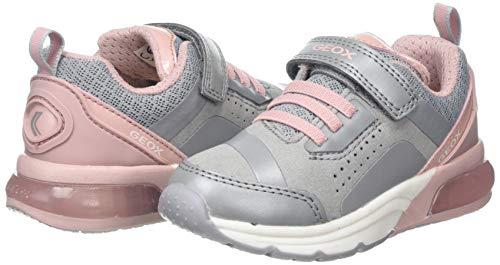 Geox J Spaceclub Girl C, Zapatillas para Niñas