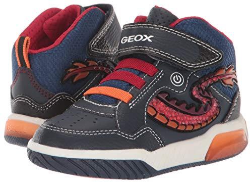 Geox J Inek Boy E, Zapatillas Altas para Niños