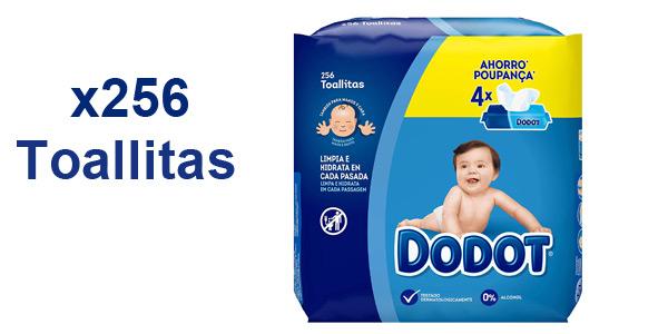 'Dodot®' Toallitas húmedas 256 toallitas