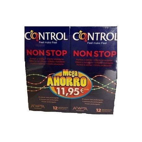 24xControl Non Stop 6,85€. Ofertas en salud sexual y más.(Leer descripción) -4€ Descuento.