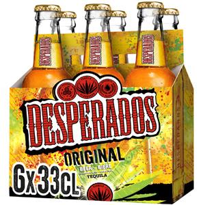 Pack de 6 cervezas Desperados (AlCampo)