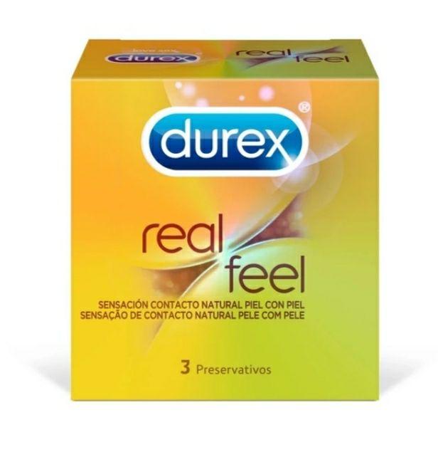 Preservativos Durex Real Feel