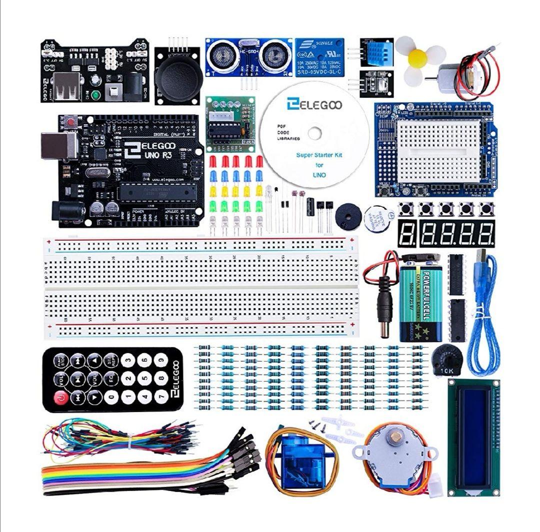 Conjunto Medio de Iniciación Compatible con Arduino IDE con Tutorial en Español