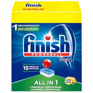 Pack FINISH Todo en 1 (10 pastillas, AlCampo)