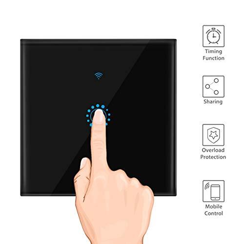 Superprecio de interruptor inteligente wifi color negro