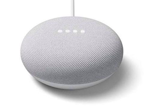 Nexus - Altavoz Inteligente - Google Nest Mini, 2ª Generación, Chalk/Rock, Blanco