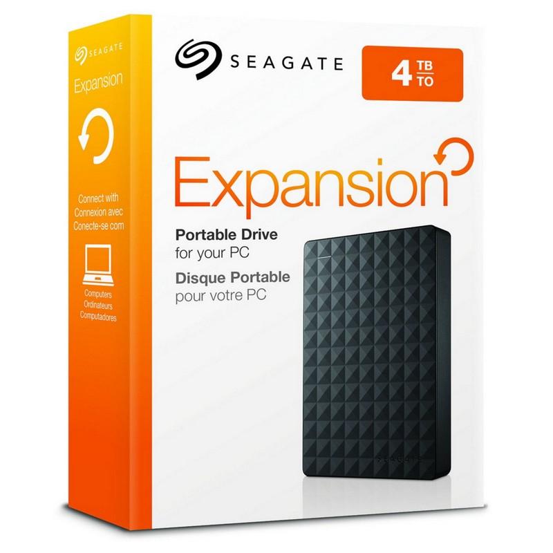 "4TB USB 3.0 Disco Duro Externo Seagate Expansion 2.5"""
