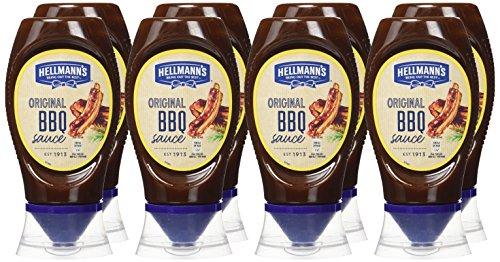 Pack de 8 Hellmann's Gran Salsa Barbacoa