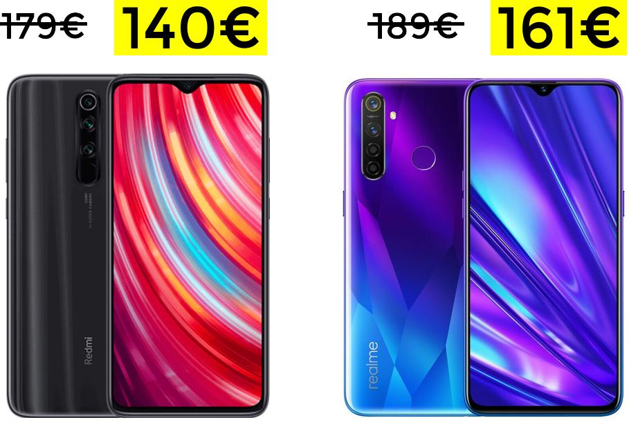 Preciazos desde España Xiaomi y Realme