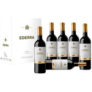 Caja con 6 botella Tinto Reserva Rioja (Ederra, Alcampo)