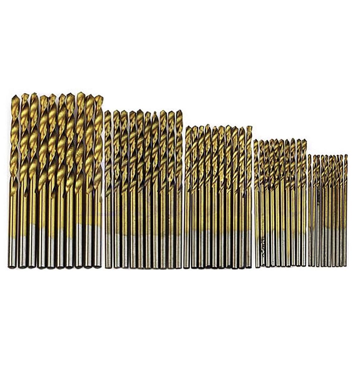 Juego de 50 brocas, para carpintería
