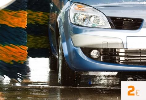 Lava el coche por 2€ en Repsol desde su app Waylet