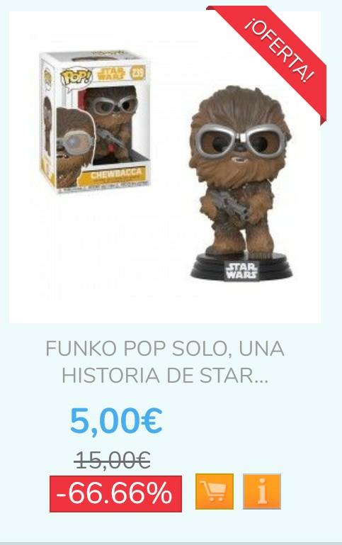 Muñecos Funko Pop! desde 5€ (algún modelo incluso menos)
