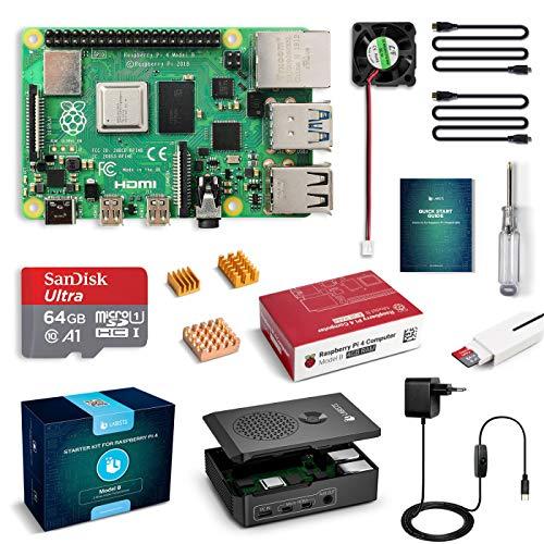 Kit Raspberry Pi 4 Model B Kit de 4 GB