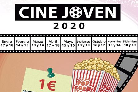 sesiones de cine a un euro, para jóvenes de 12 a 25 años en ZAMORA