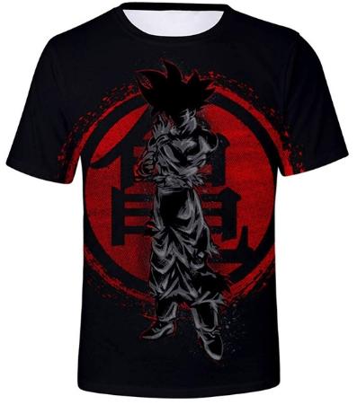 Varios modelos de Camisetas Bola de Dragón Z Goku