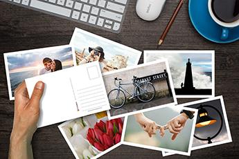 Gratis Postal personalizada (Formato físico)