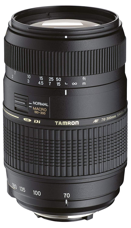 O bjetivo para Nikon (70-300mm, f/4-5.6, Macro, AF, 62 mm)