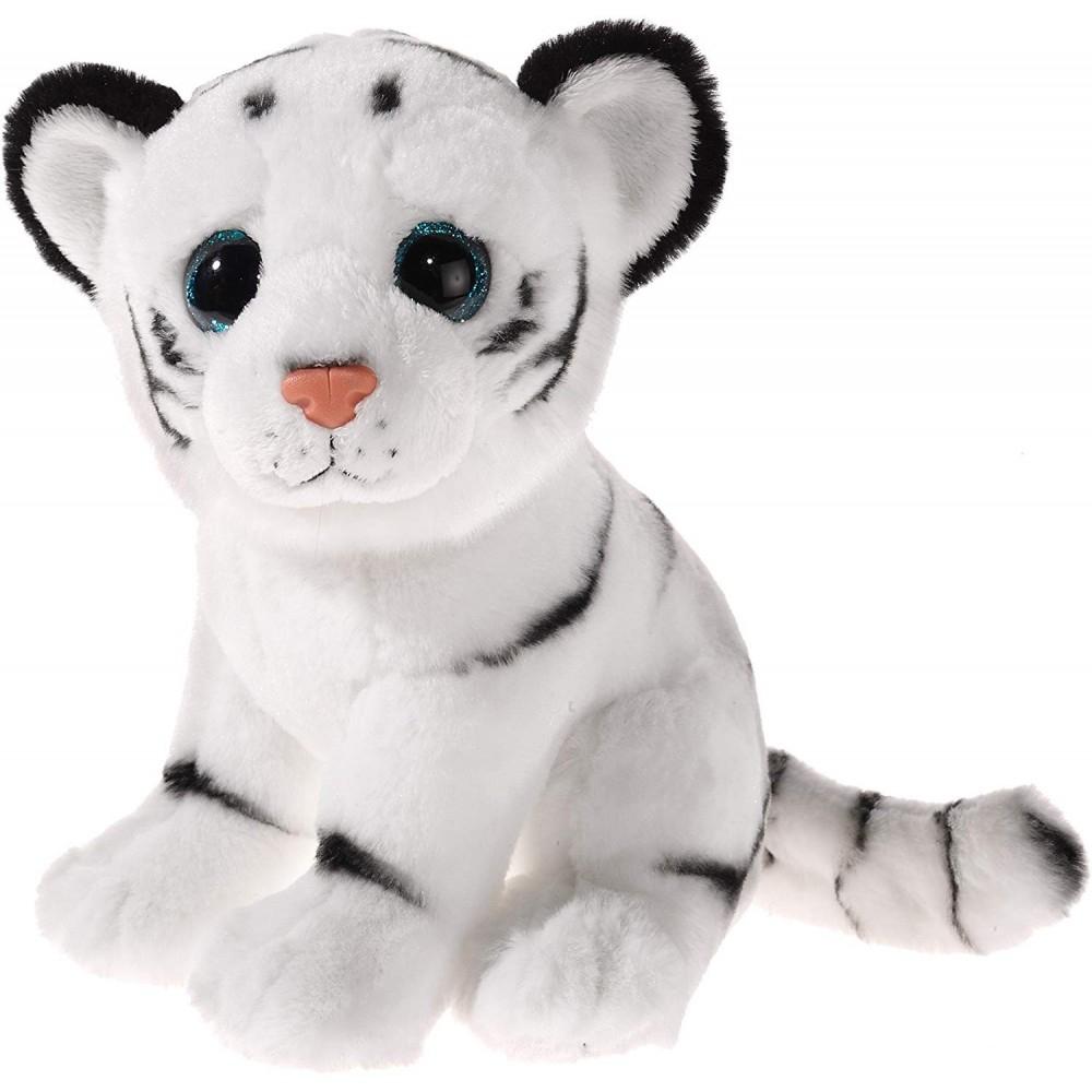 Heunec 235779 Peluche Tigre De Las Nieves, Blanco Y Negro