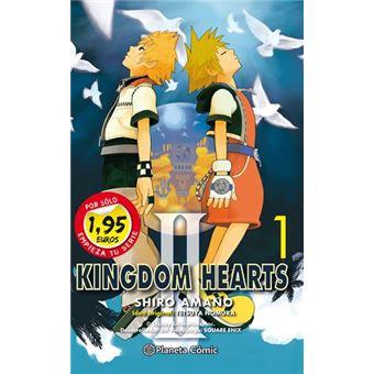 Manga 01 de Kingdom hearts II por menos 2€