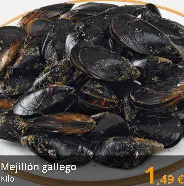 Mejillón gallego, el kilo - Supermercados Gadis