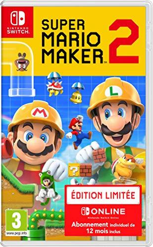 Super Mario Maker 2 +12 meses online solo 46.7€