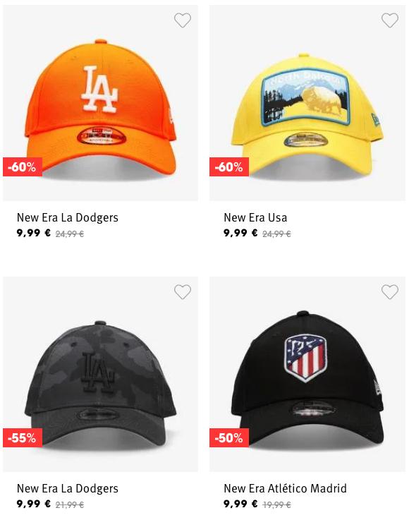 Gorras de licencias
