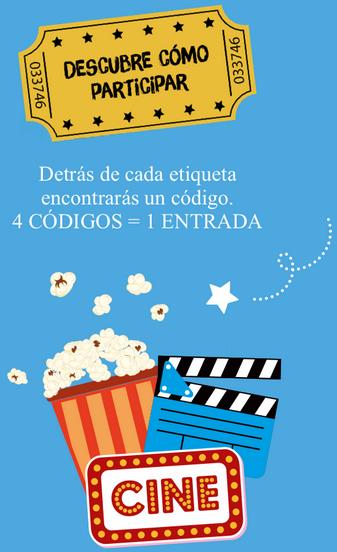 Entrada Cine + 4 Sunny Delight por 1,50€
