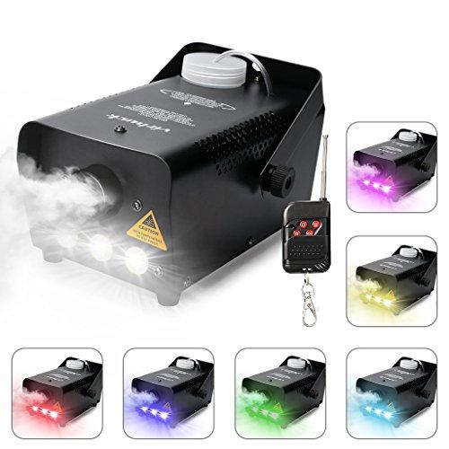 Máquina de niebla profesional con luces LED+ voltimetro de regalo