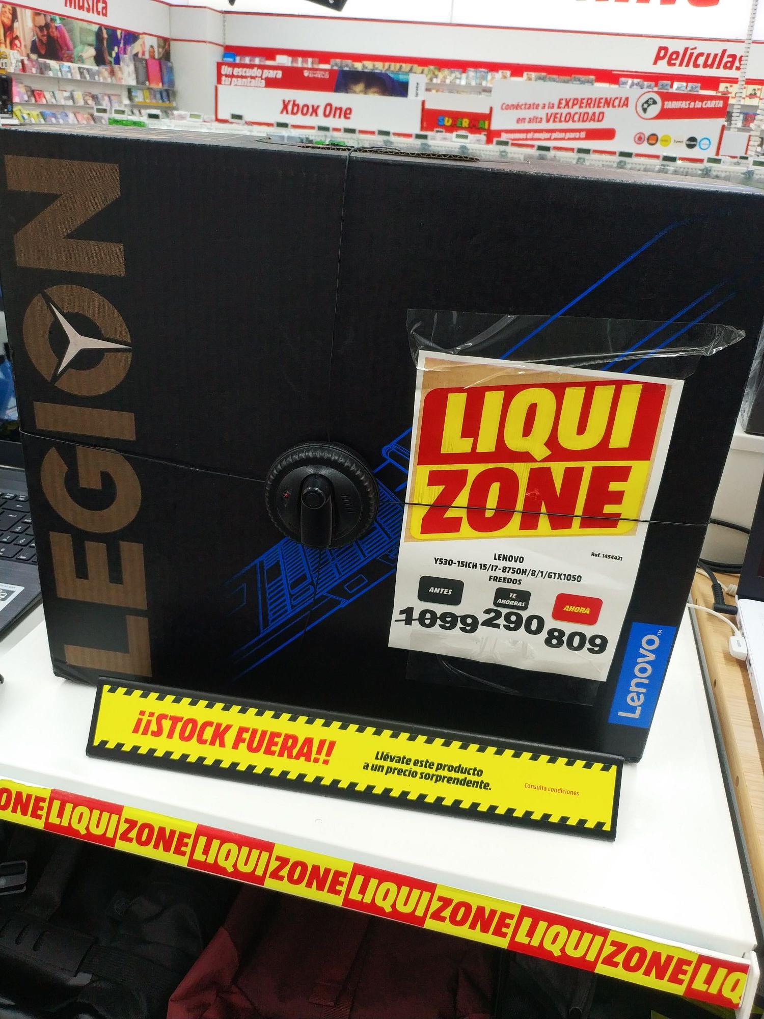 Lenovo Y30 15ICH i7 8750H GTX1050 4GB