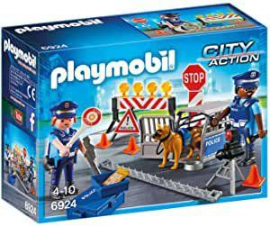 PLAYMOBIL City Action Control de Policía (6924)