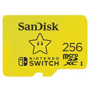 SanDisk 256GB microSDXC con licencia Nintendo®