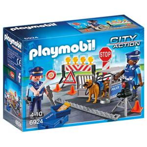 PLAYMOBIL Control de Policía City Action 6924 (Alcampo)