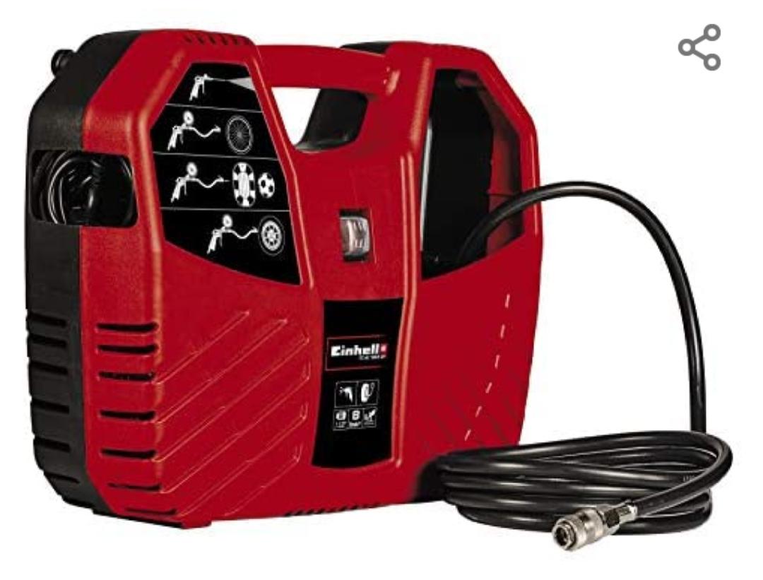 Compresor maletín rojo Einhell