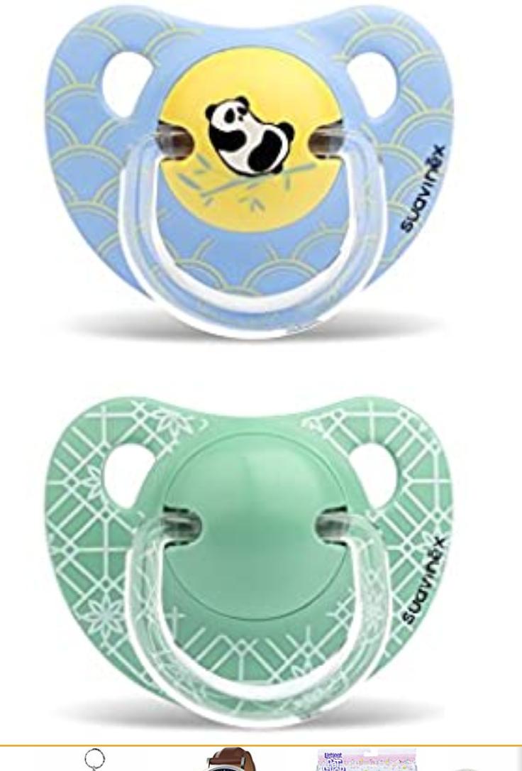 2 chupetes physio modelo panda