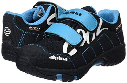 TALLA 28 - Alpina 680400, Zapatillas de Senderismo Unisex Niños