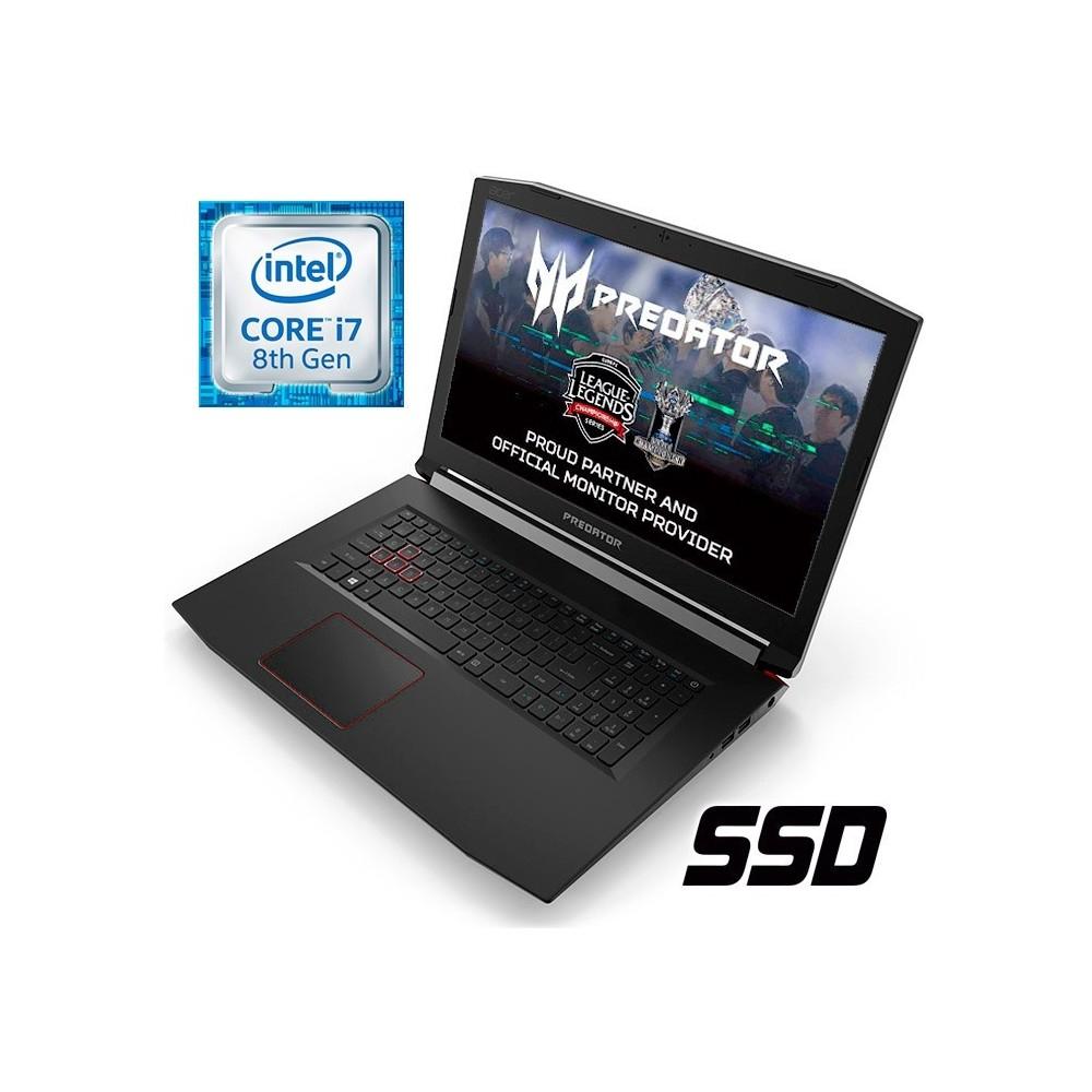 Acer Predator Helios 300 17 pulgadas IPS i7 8750H/GTX 1060