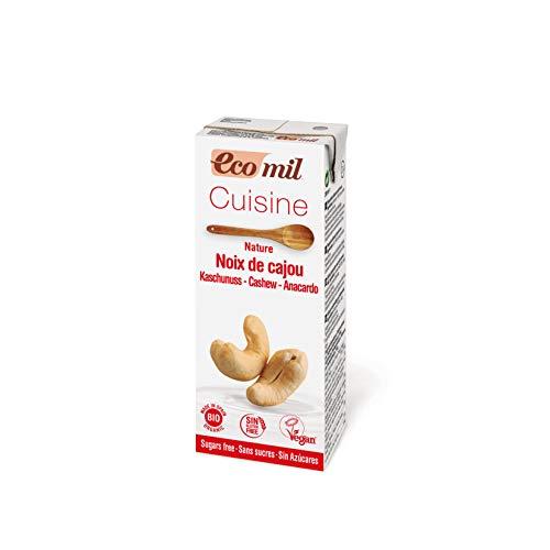EcoMil Cusine Cashew Bio 200ml - 24 unidades de 200 ml por solo 7 euritos