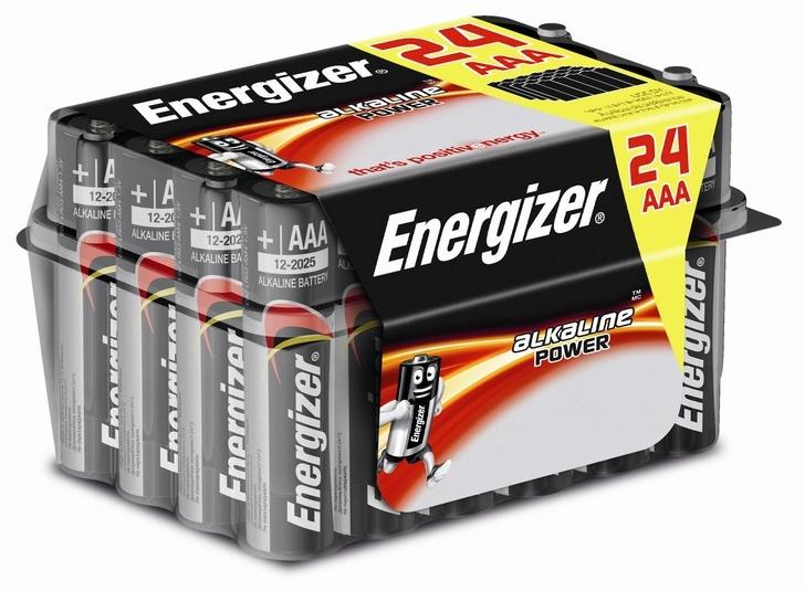 24 x Pila alcalina AAA / LR03 ENERGIZER en Bricor