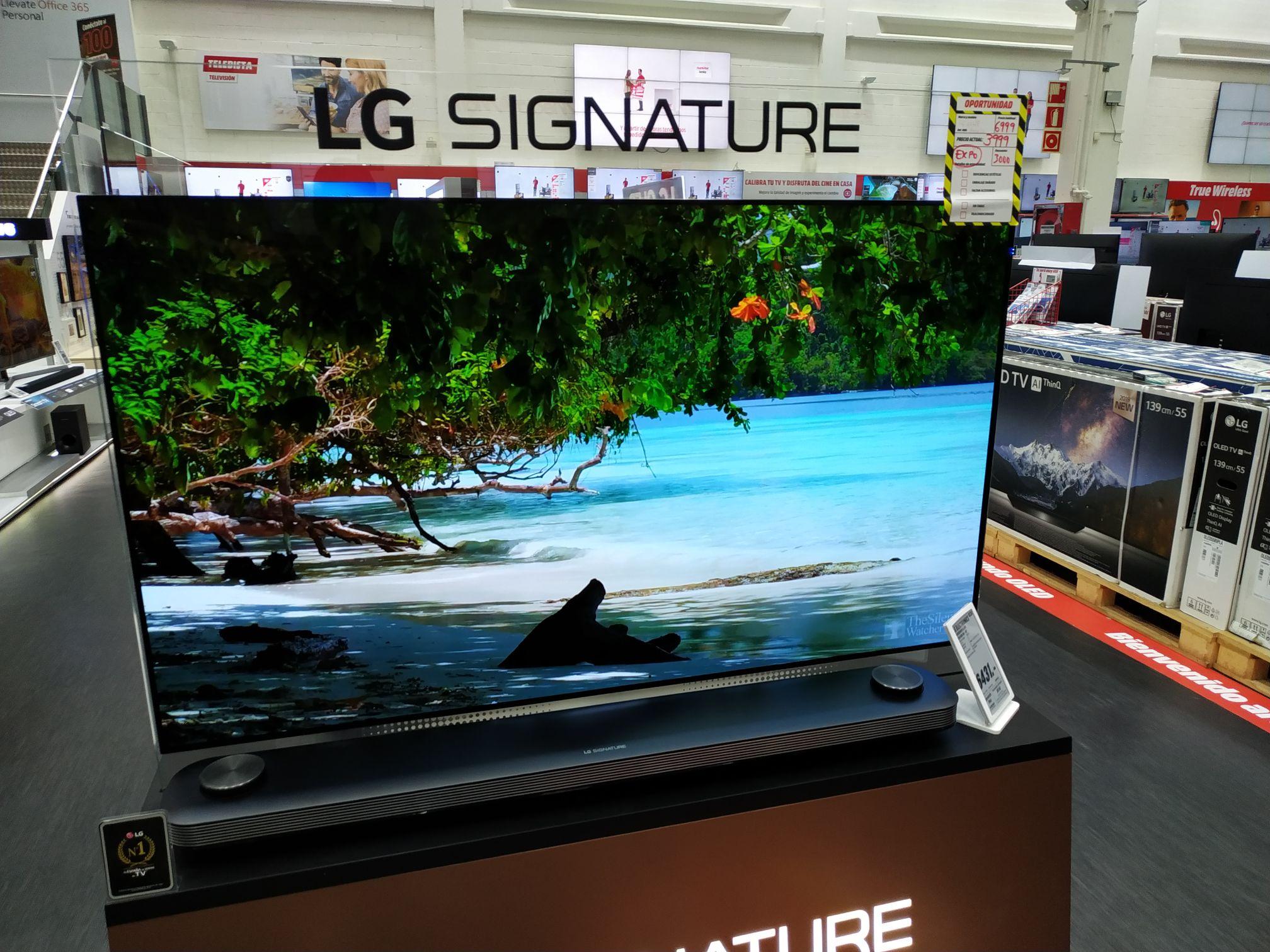 LG - TV OLED 65'' Lg Oled65W8P 4K Uhd HDR Smart TV - TV( solo recogida media Markt Barakaldo)
