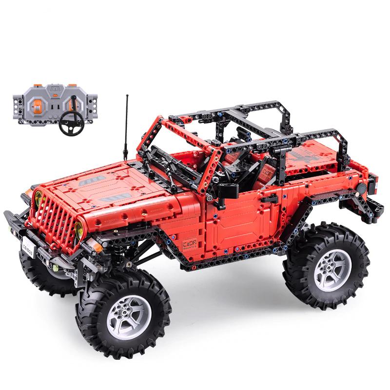 Cada, control remoto Jeep Wrangler (compatible con Lego Technic) Envío desde España.