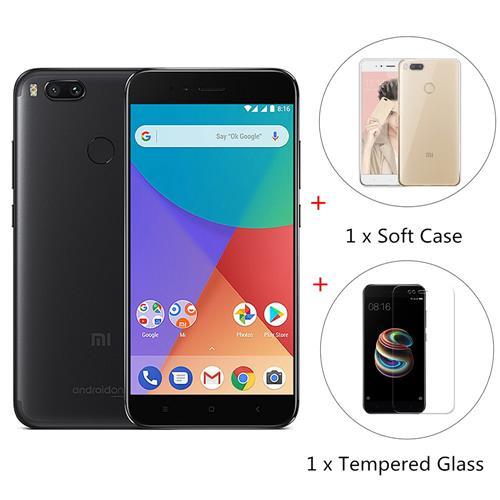 Xiaomi MI A1 4GB 32GB + Cristal Templado + Funda por 157 Euros