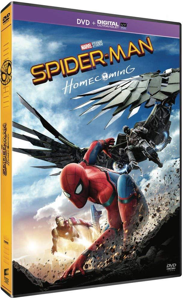 "Spiderman:Homecoming DVD + Digital UltraViolet + Comic Book Reaco ""muy bueno"" Amazon"
