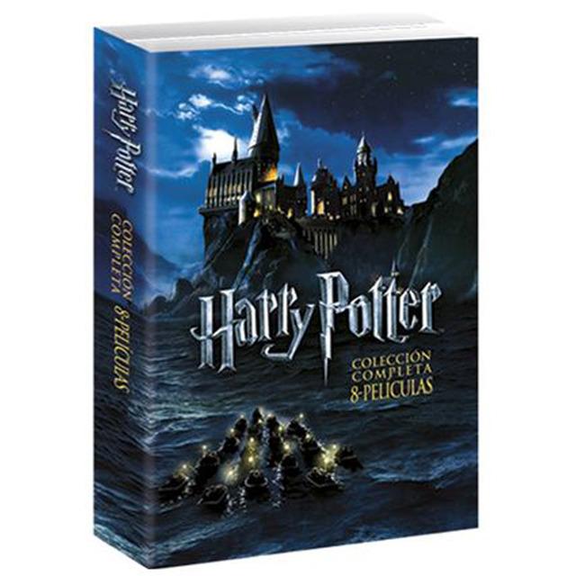 Colección completa películas de Harry Potter
