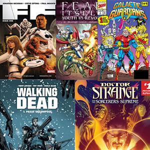 Se añaden 5 Comics gratis (Comixology, Inglés)