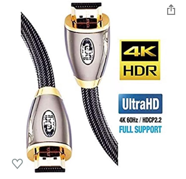 Cable HDMI 2.0 (2 metros) precio mínimo