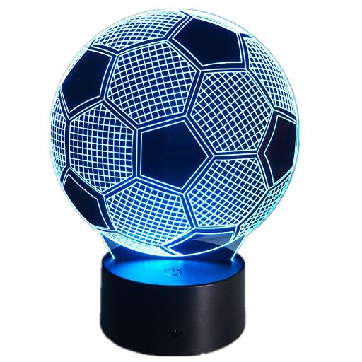 Lámpara 3D Pelota Fútbol solo 4.05€