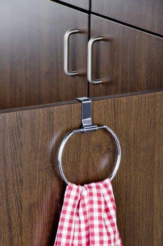 Toallero para paños de cocina y soporte para bolsa de basura xd